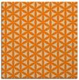 rug #757221 | square beige circles rug