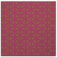 rug #757233   square light-green circles rug