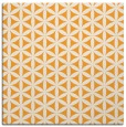 rug #757253 | square light-orange circles rug