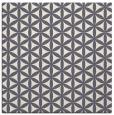 rug #757256 | square circles rug