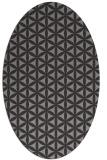 rug #757303 | oval circles rug