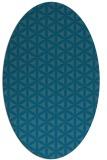 rug #757311 | oval circles rug