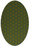 rug #757317 | oval circles rug