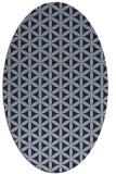 rug #757371 | oval circles rug
