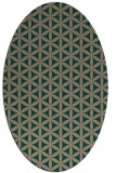 rug #757379 | oval circles rug