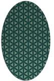 rug #757463 | oval geometry rug