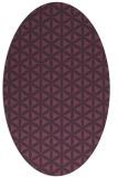 rug #757482 | oval circles rug