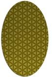 rug #757578 | oval circles rug