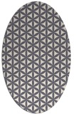 rug #757608 | oval circles rug