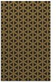 rug #757629 |  brown circles rug