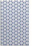 rug #757649    blue circles rug