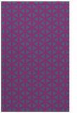 rug #757673 |  blue-green circles rug