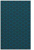 rug #757689 |  blue geometry rug