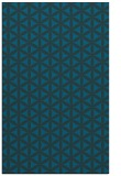 rug #757689 |  blue circles rug