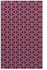 rug #757701 |  pink circles rug