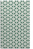 rug #757741 |  green circles rug