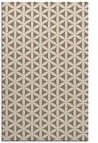 rug #757761 |  mid-brown circles rug