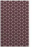 rug #757765 |  pink circles rug