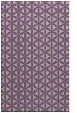 rug #757789 |  beige circles rug