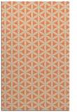 rug #757805 |  orange circles rug