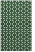 rug #757813 |  blue-green geometry rug