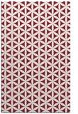 rug #757821 |  pink circles rug