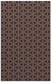 rug #757841 |  mid-brown circles rug