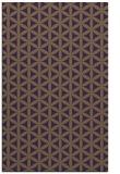 rug #757841 |  purple circles rug