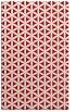 rug #757849 |  red geometry rug