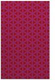 rug #757861 |  pink circles rug