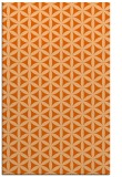 rug #757869 |  red-orange circles rug