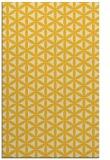 rug #757897    yellow circles rug