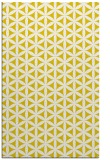rug #757909 |  yellow circles rug