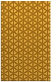 rug #757913 |  light-orange circles rug