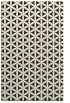 rug #757917 |  black circles rug