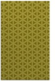 rug #757929    light-green circles rug