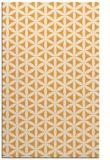 rug #757957 |  light-orange circles rug