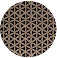 rug #757973 | round beige circles rug