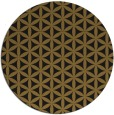 rug #758077 | round mid-brown popular rug