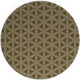 rug #758081 | round brown rug