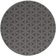 rug #758109 | round brown rug