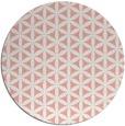 rug #758181 | round pink circles rug