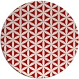 rug #758201 | round red circles rug