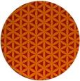 rug #758205 | round red circles rug