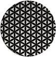 rug #758233   round white circles rug