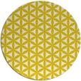 rug #758237   round white geometry rug