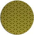 rug #758281 | round light-green circles rug