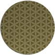 rug #758293   round light-green circles rug