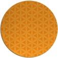 rug #758305   round light-orange circles rug