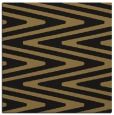 rug #758685 | square black stripes rug